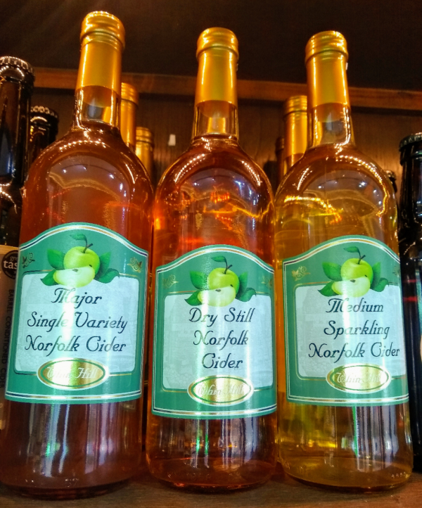 A picture of Whin Hill Cider