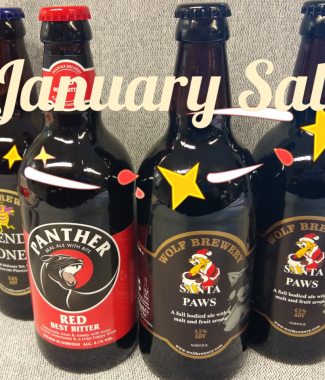 January sale beers